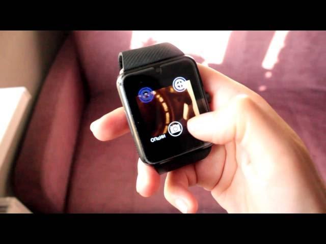 Умные часы Smart Watch GT08 видео обзор
