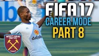 FIFA 17 Career Mode Gameplay Walkthrough Part 8 - OLD PLAYER RETURNS FOR REVENGE (West Ham)