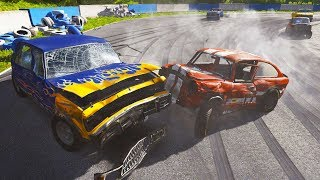 CRAZY FIGURE 8 RACE DESTRUCTION! - Next Car Game UPDATE Gameplay