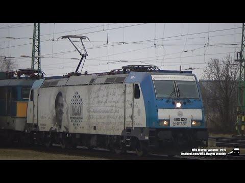 Vasúti forgalom | Gyoma | 2015.01.11