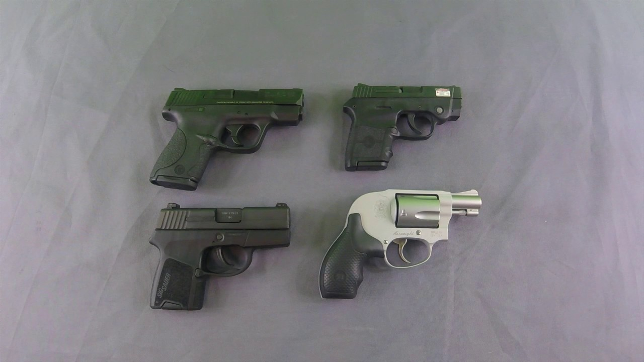 Backup Guns and Ankle Carry - YouTube