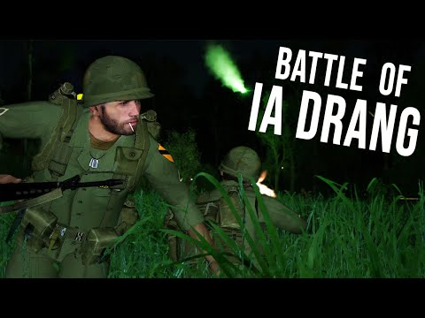 The Battle Ia Drang Part 3[We Were Soldiers](ARMA 3 Unsung MOD)