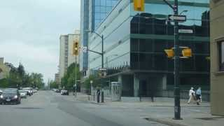 Downtown London, Ontario Going West on Dundas
