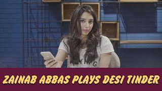Zainab Abbas Plays Desi Tinder | ShowSha