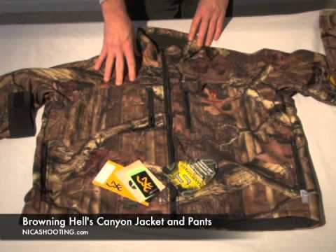 Browning Hell's Canyon Camo Jacket & Pants