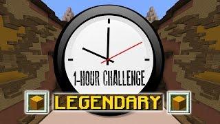 1 HOUR HALLOWEEN HYPER MODE! (Minecraft Build Battle)