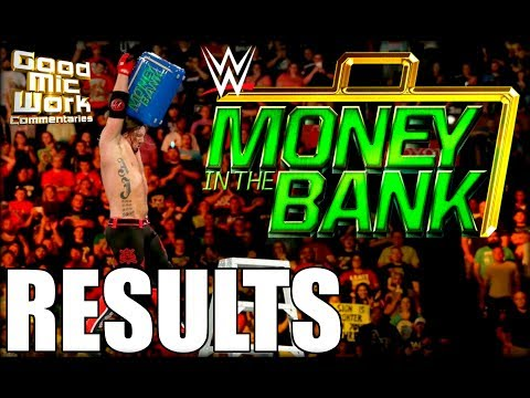 WWE Money In The Bank 2017 RESULTS | Jinder Mahal WINS! | Mike & Maria Kanellis Debut!