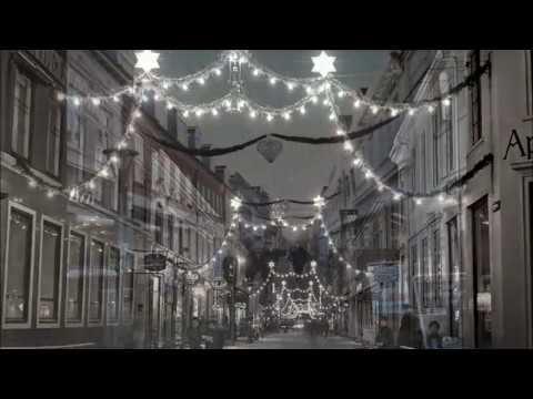 Jul I Vestergade Silkeborg Nu Og I Gamle Dage Youtube