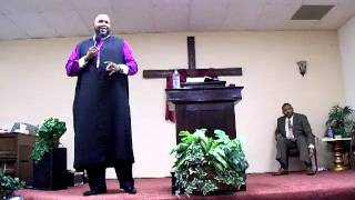 Apostle J  Cortez Vaughn @ LWTC 5th Year Church Anniv