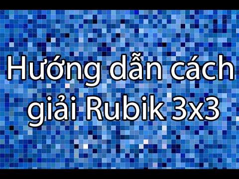 [The Crystallized] Cách giải khối Rubik 3x3 đơn giản dành cho người mới chơi!