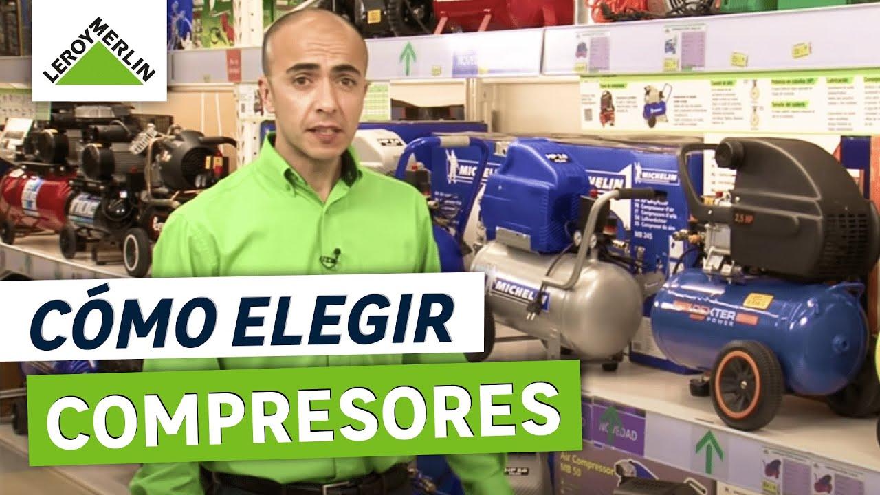 C mo elegir compresores leroy merlin youtube for Alquiler herramientas leroy merlin
