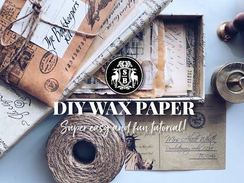 Episode 2: DIY Wax Paper