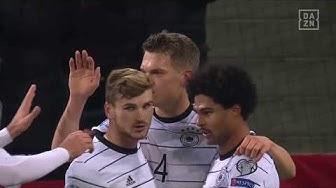 Ginter mit der Hacke mit dem 1:0 für Deutschland | DAZN