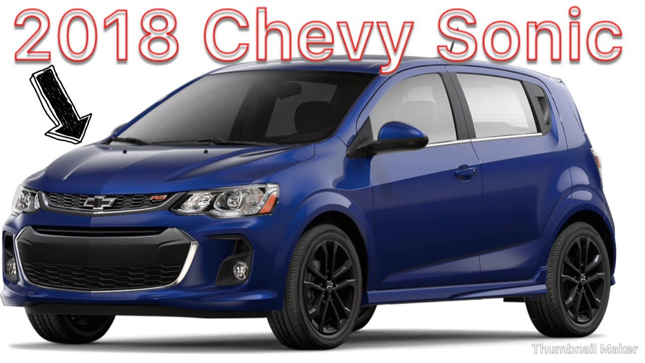 2018 Chevy Sonic Colors
