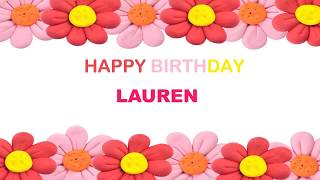 Lauren   Birthday Postcards & Postales - Happy Birthday