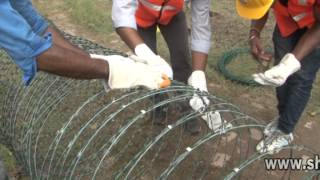 Razor Wire Installation Tutorial Video