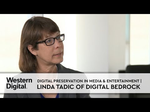 Digital Preservation in Media & Entertainment | Linda Tadic of Digital Bedrock