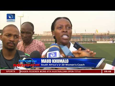U-20 W.Cup Qualifier: Analysing Falconets Bashing Of South Africa  Sports This Morning 