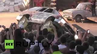 Russia: This stunt festival really does take things to the extreme, it is  Prometheus 2014