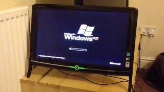 eMachine EZ 1601 Windows XP Boot Up