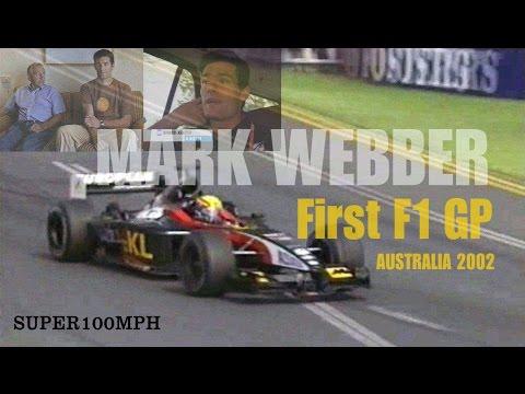 Mark Webber First F1 GP (Australia 2002)