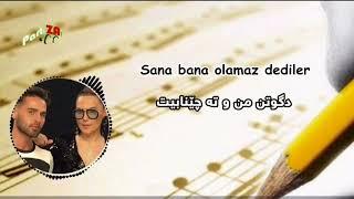 demet akalin omer topcu oh olsun kurdish subtitle with turkish lyric Video