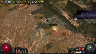 [2.3] Explosive Arrow Elementalist with 11 Grand Spectrum - Village Ruin Map Run