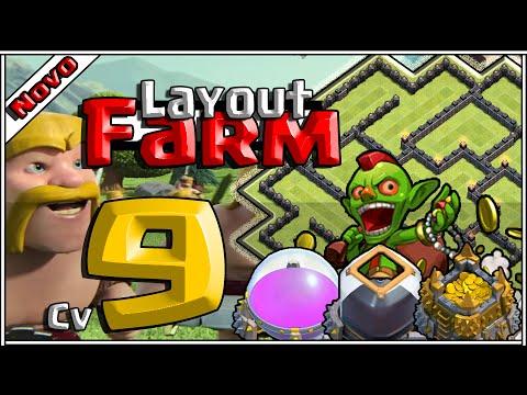 Layout Épico de Farm Cv9