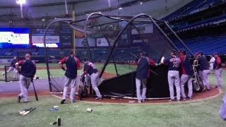 Big Papi Launches Some Homers With An Aluminum Bat In Bp