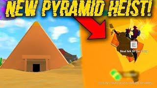 *NEW* BIG PYRAMID HEIST UPDATE!? (ROBLOX MAD CITY)