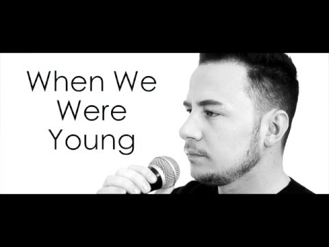 Adele - When we were young (Male cover) Ryan Dolan