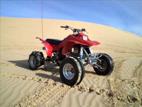 1988 Honda Trx250r Fourtrax At Imperial Sand Dunes Youtube