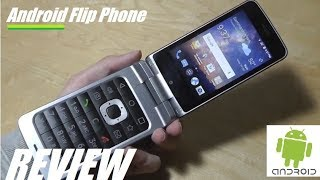 REVIEW: ZTE Cymbal T - Android Flip Phone Smartphone?!