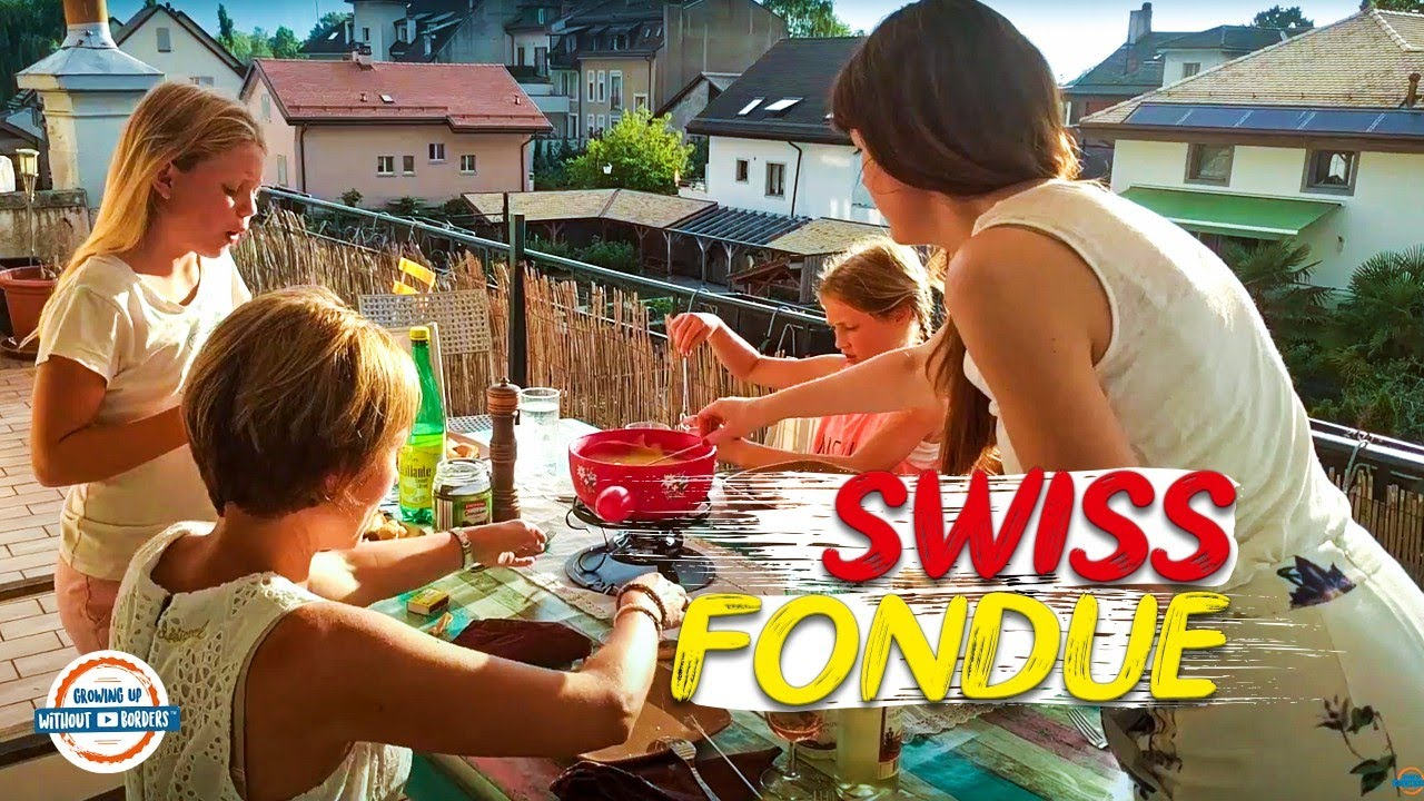 How To Make Authentic Swiss Cheese Fondue