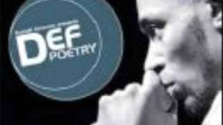 Def Poetry- Kanye West Poem