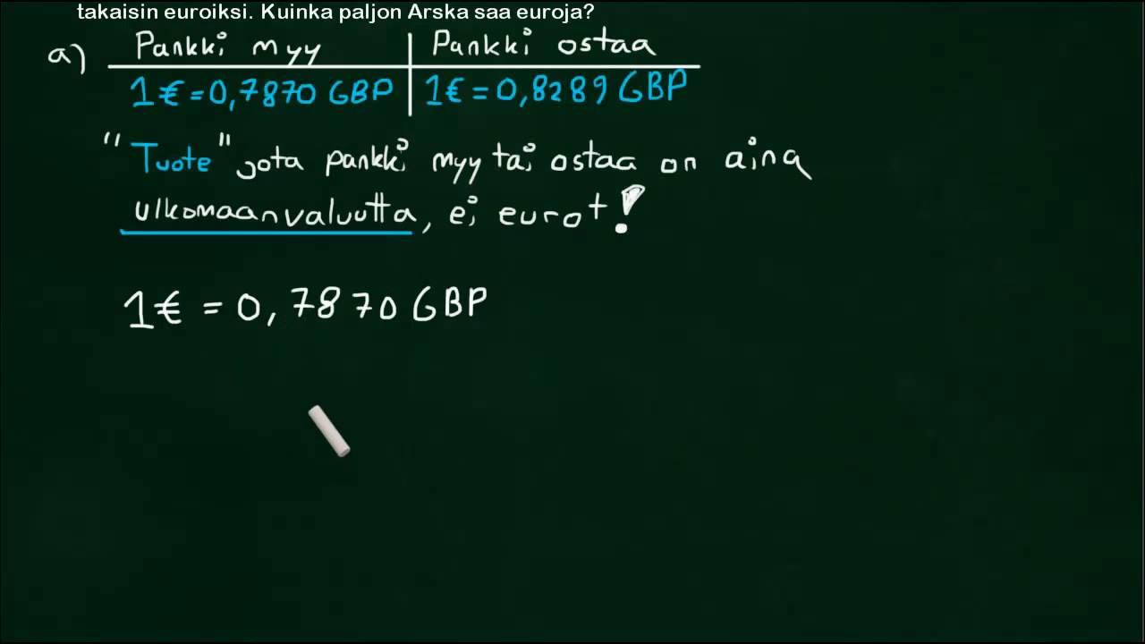 Valuutakurssit