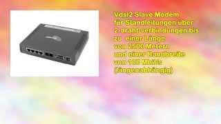 Details Allnet VDSL2 Slave Modem 100 Mbit Top