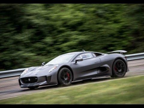 Jaguar C-X75 hypercar - LaFerrari and McLaren P1 rival - driven by autocar.co.uk