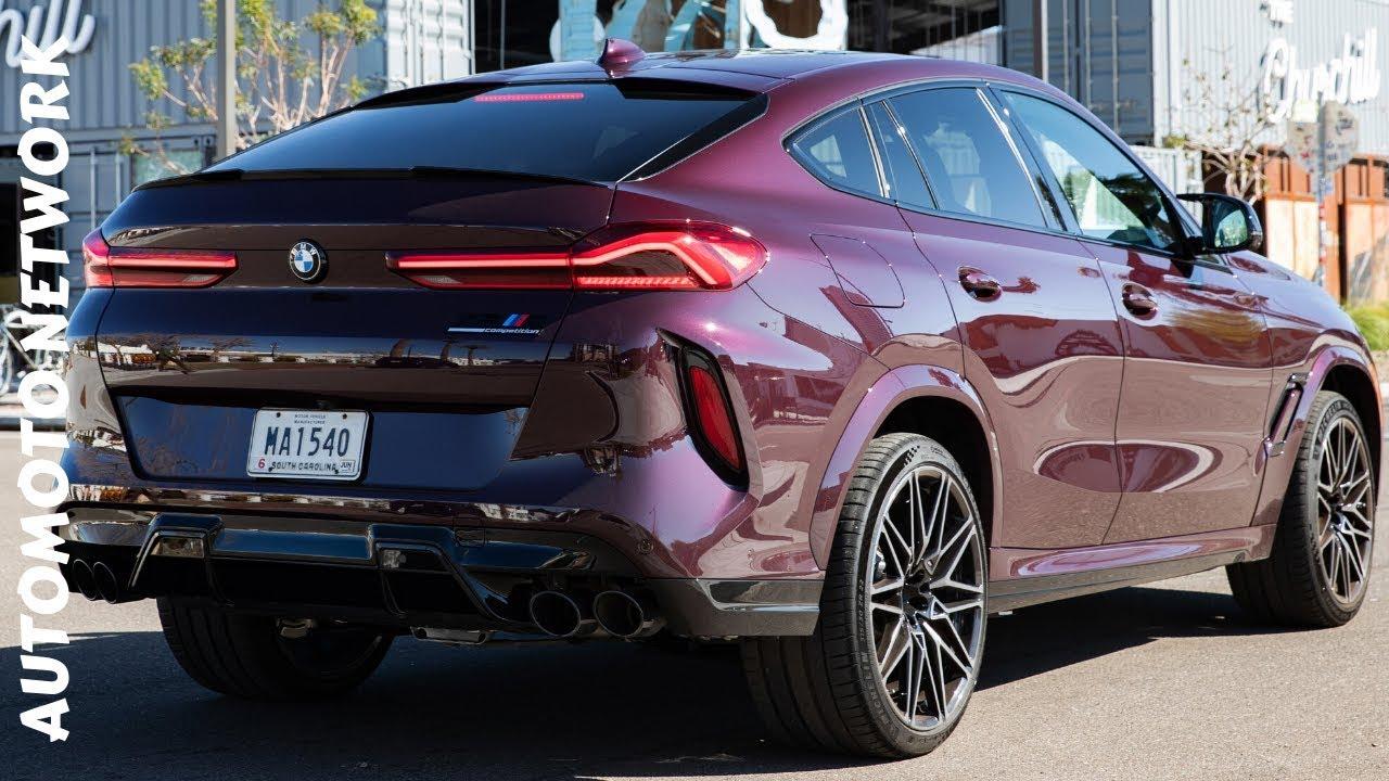 First Drive BMW X6M 2021