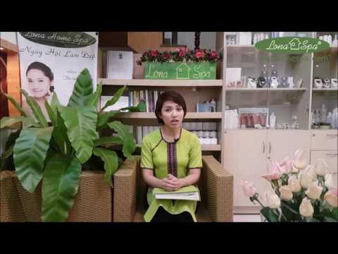 Massage toàn thân thư giãn với máy Galvanic tại Lona Home Spa