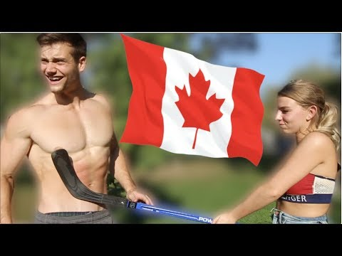 Connor Murphy Tries to Pick Up Canadian Girls (PAINFUL)