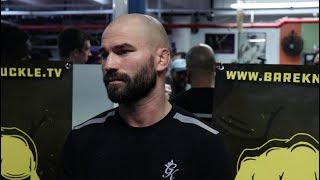 Artem Lobov reacts to Paulie Malignaggi scuffle | Media Scrum