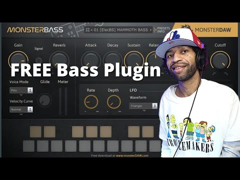 Monster Bass FREE Bass VST Plugin By Monster DAW Review And Demo