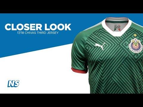 Closer Look: Puma 17/18 Chivas Third Soccer Jersey