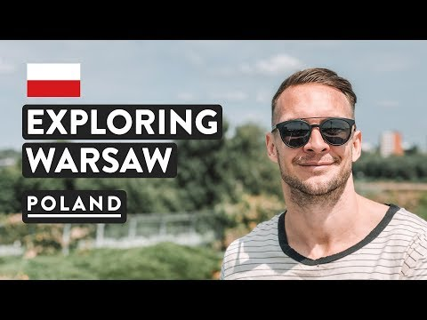 ROOFTOP VIEWS & NEON MUSEUM | Warsaw University Library Gardens | Poland Travel Vlog