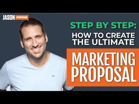 How To Create A Winning Marketing Proposal That Converts 80%