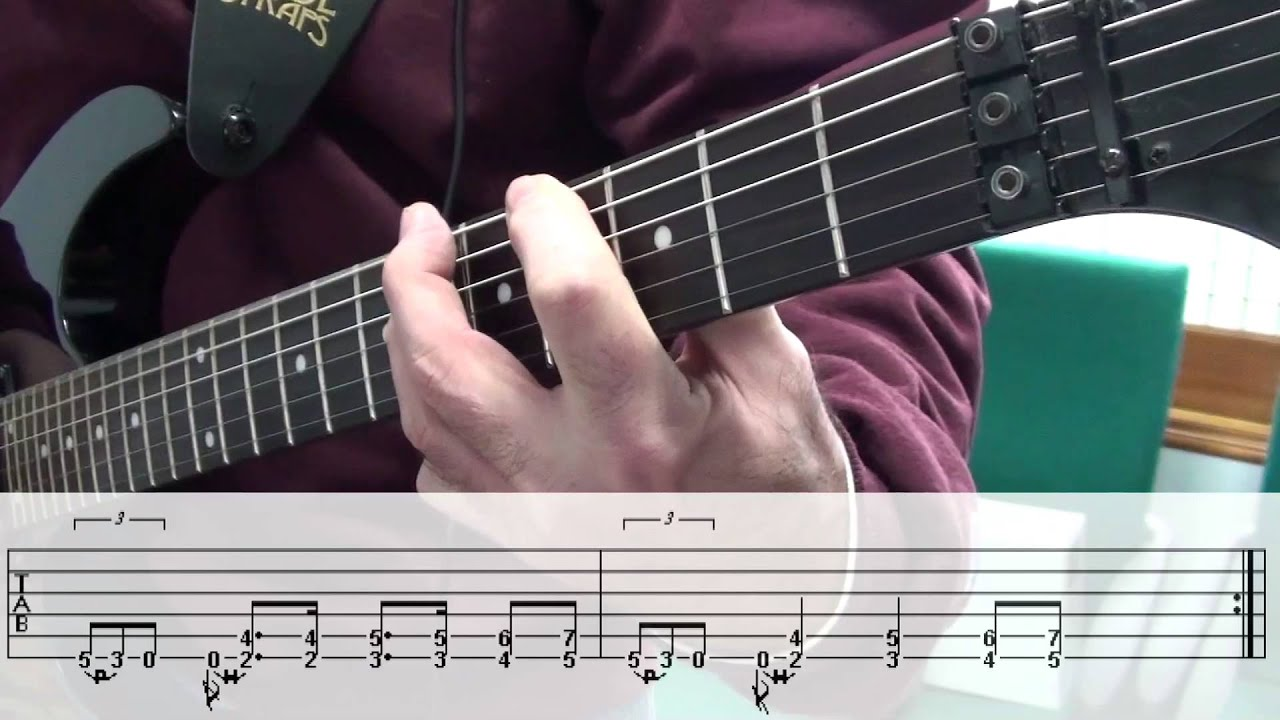 Sweet Emotion Guitar Lesson Youtube
