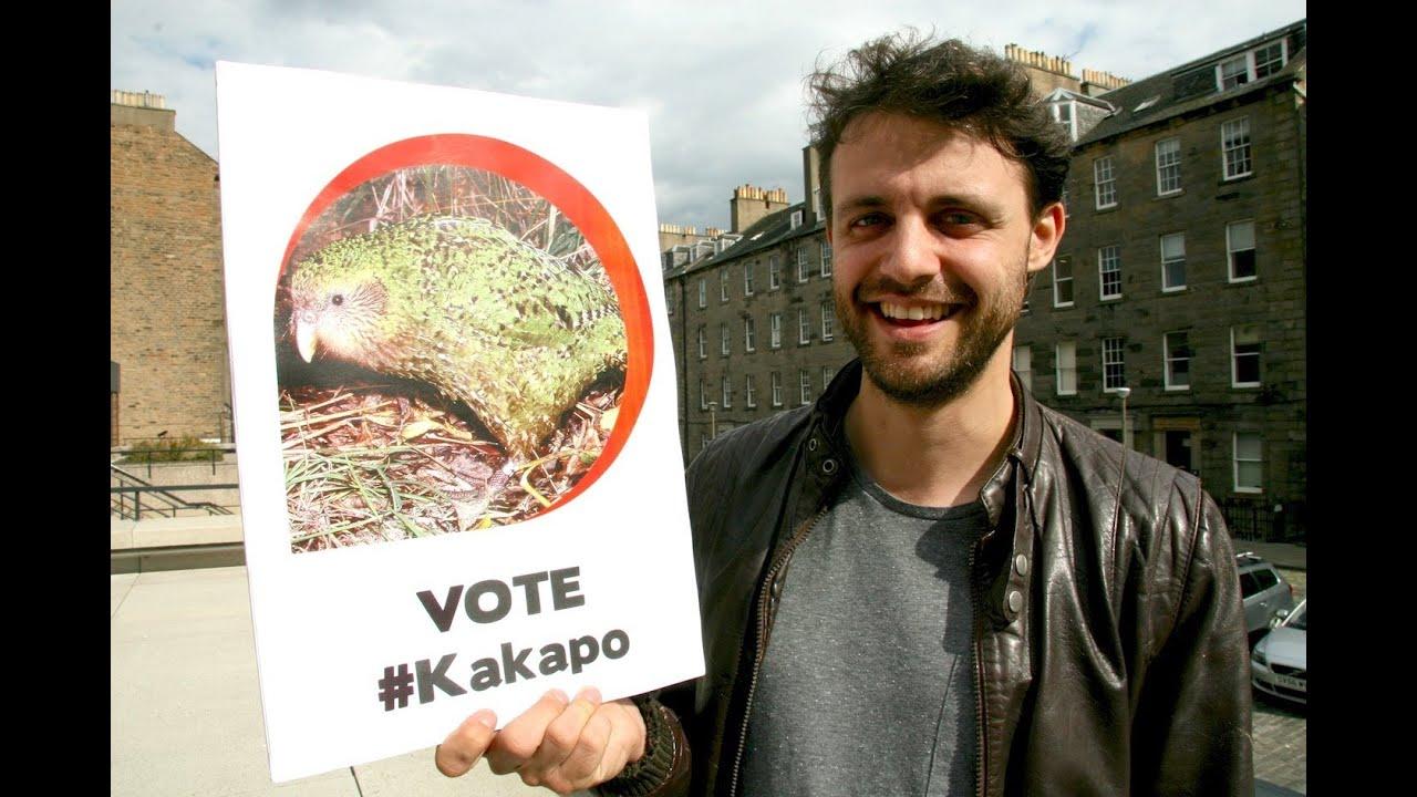 Ugly animal vote - Kakapo (Steve Mould) - YouTube