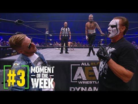 MUST SEE: Sting & Orange Cassidy Face Off for the First Time Ever   AEW Fyter Fest Night 2, 7/21/21