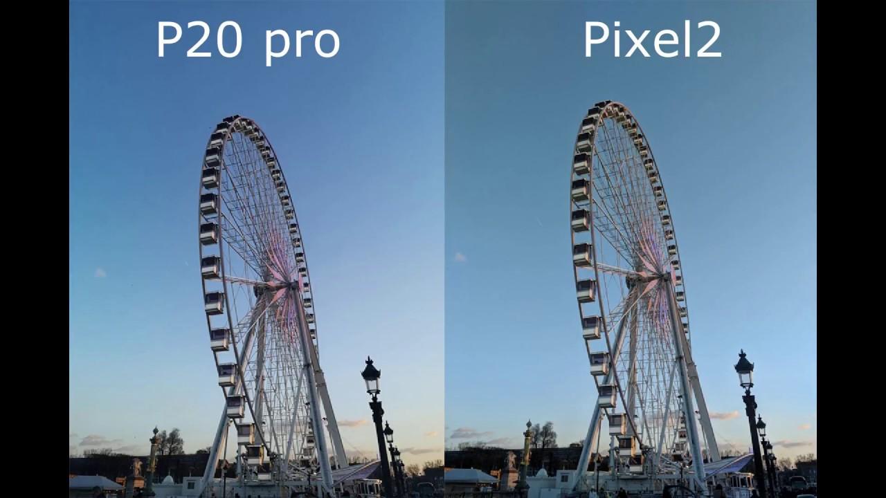 Huawei P20 Pro Vs Google Pixel 2 XL Camera Test Comparison